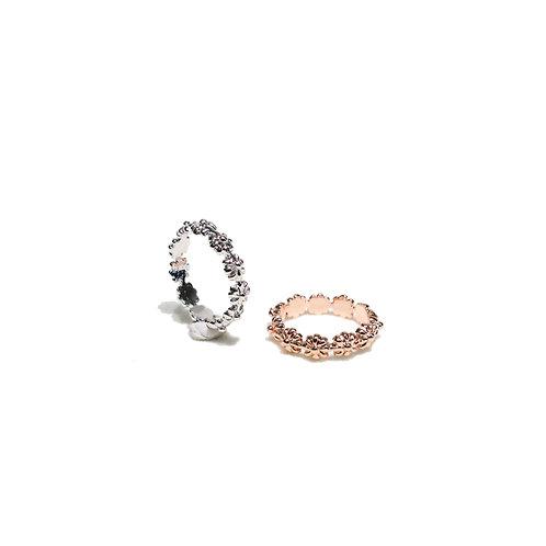 Blossom Ring sterling silver 925