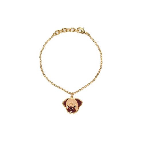 Gubjung & Friends - Pug Bracelet (ข้อมือปั๊ก)