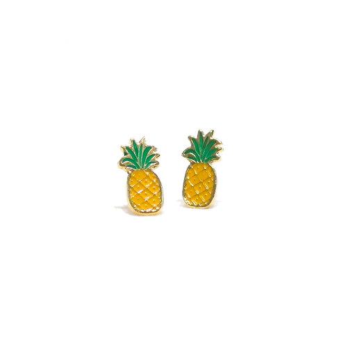 Pineapple Cilp Earring