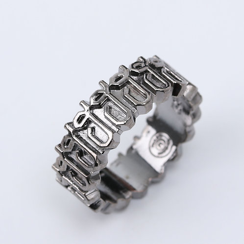 Thai-POGRAPHY Ring ฮ
