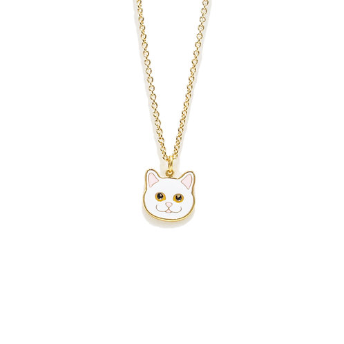 Gubjung & Friends - Persian Cat Necklace