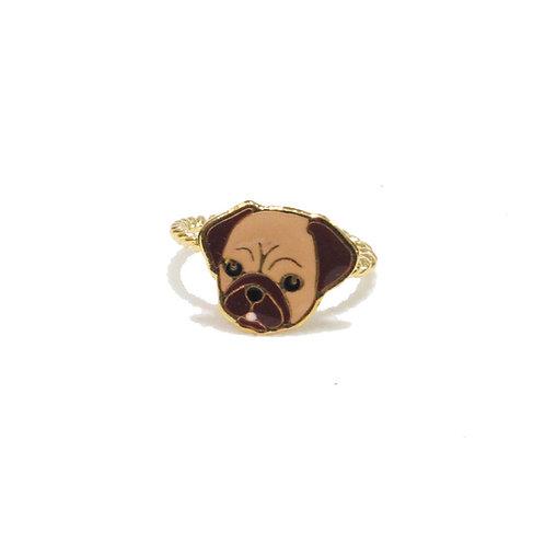 Gubjung & Friends - Pug Ring