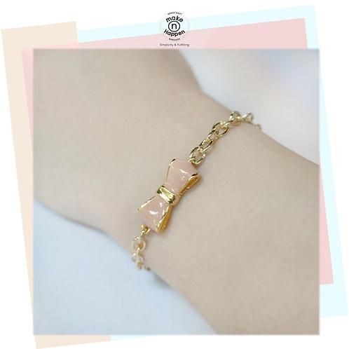Sweet Ribbon Bracelet (สร้อยข้อมือโบว์)