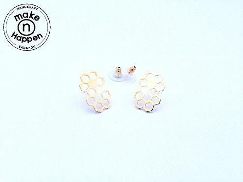 Bee hive earring