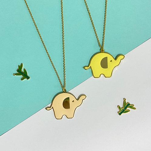 Elephant Long Necklace (สร้อยคอยาวรูปช้าง)