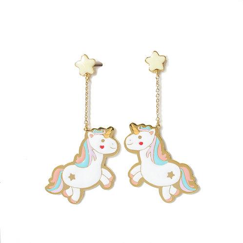 Big earring - Unicorn
