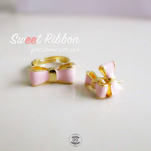 Sweet Ribbon Earring / Ring