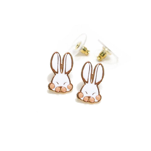 Farm Rabbit Earring (ต่างหูกระต่ายหูยาว)