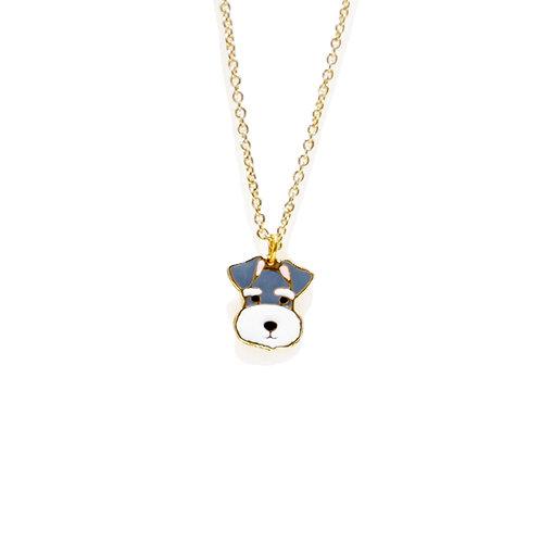 Gubjung & Friends - Schnauzer Necklace (สร้อยคอจี้ชเนาเซอร์)