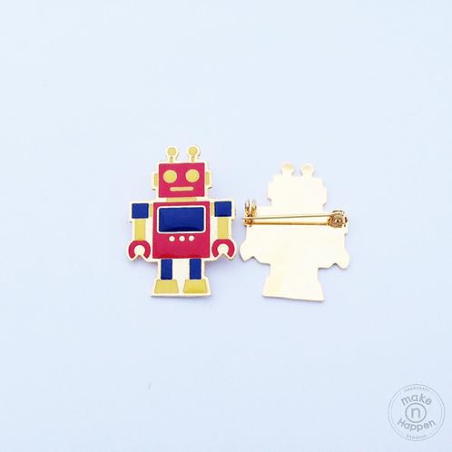 Robot brooch