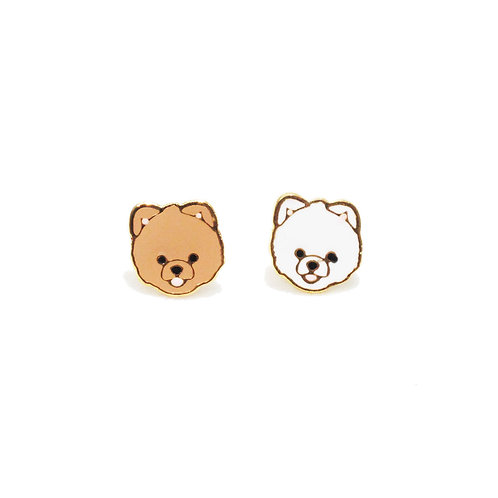 Gubjung & Friends Pomeranian earring