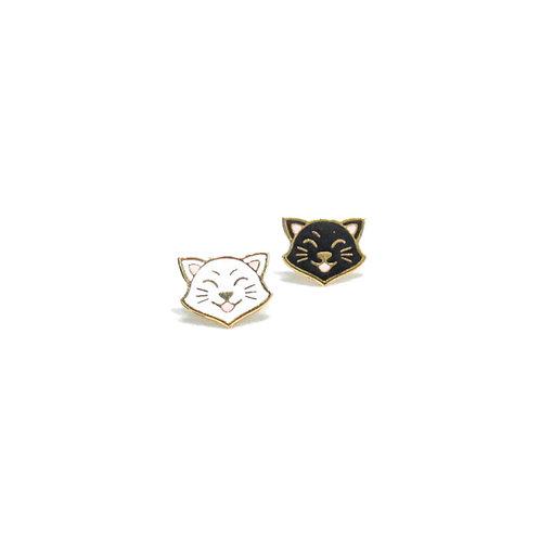 Gubjung & Friends Cat earring