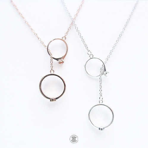 Love Ring Necklace S925