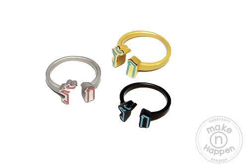 I love BKK - Love ring ( Ruk )