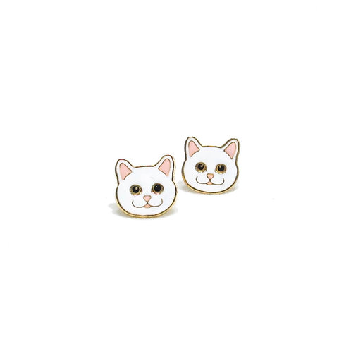 Gubjung & Friends Persian cat earring