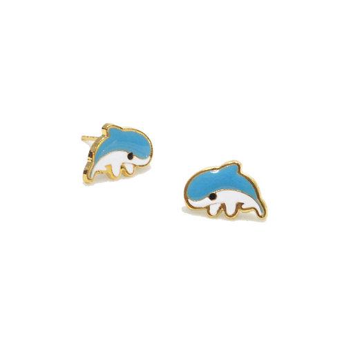 Wind&Sea - Dolphin Earring (ต่างหูโลมา)