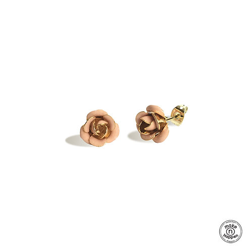 Garden by the bay - Rose earring