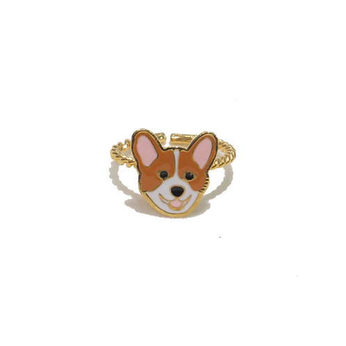 Gubjung & Friends - Corgie Ring