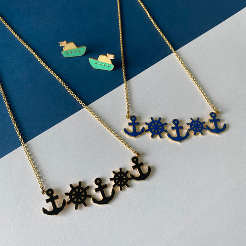 Anchor Long Necklace (สร้อยคอสมอ-พังงา)