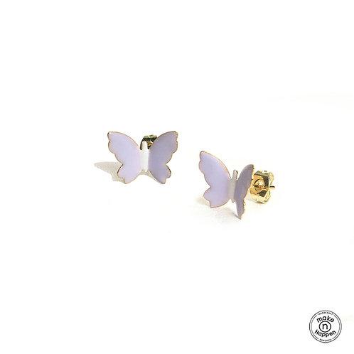 Garden by the bay - Butterfly earring (ต่างหูผีเสื้อ)