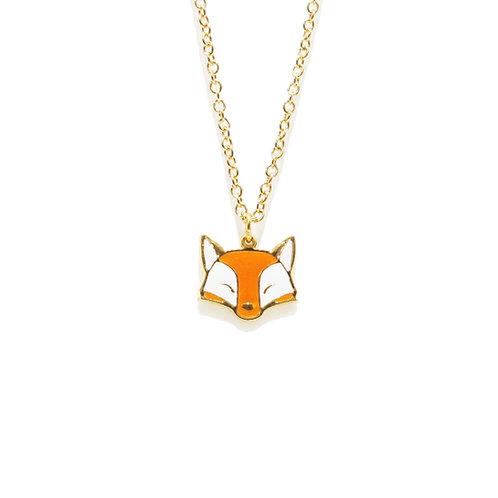 Farm Fox Necklace (สร้อยคอ จี้จิ้งจอก)