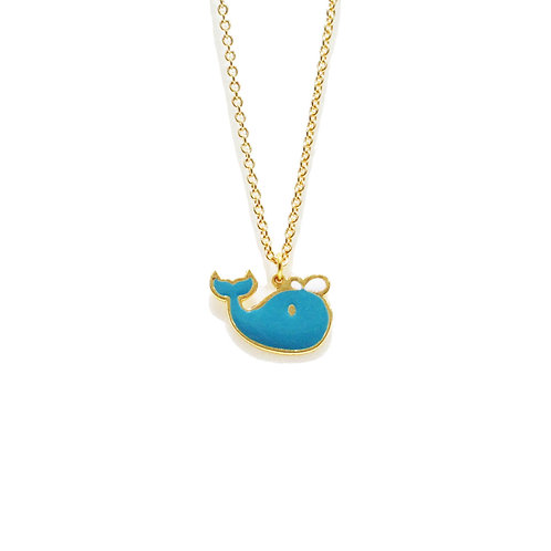 Wind & Sea - Whale Necklace (สร้อยคอ ปลาวาฬ)