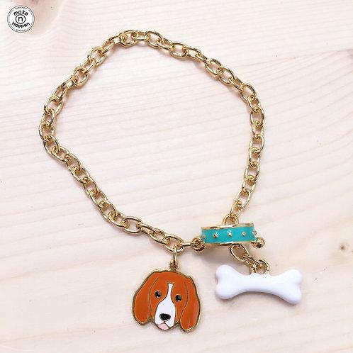 Gubjung & Friends Beagle bracelet (เซทข้อมือบีเกิล)