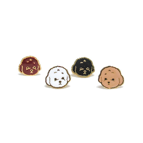 Gubjung & Friends Poodle earring