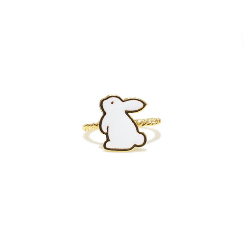 Teatime Rabbit Ring (แหวนกระต่าย)