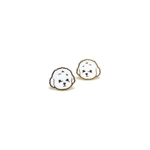 Poodle Clip Earring (ต่างหูคลิปพุดเดิ้ล)