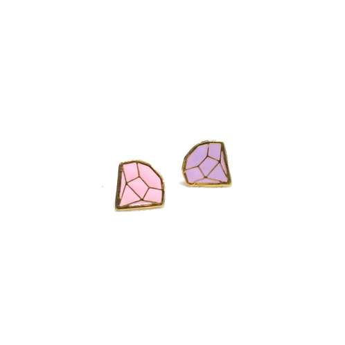 Diamond Earring (ต่างหูลายเพชร)