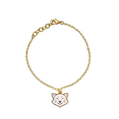 Gubjung & Friends - Smile Cat Bracelet (ข้อมือจี้แมว)