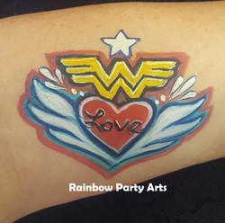 Wonder Woman Valentine
