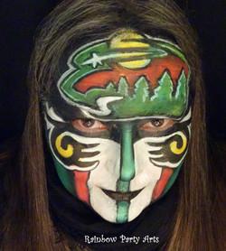 Minnesota Wild Mask