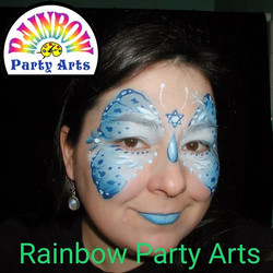 Happy Hanukkah! #rainbowpartyarts #twinc