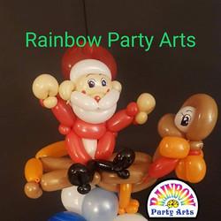Thanksgiving_Christmas Balloon Sculpture