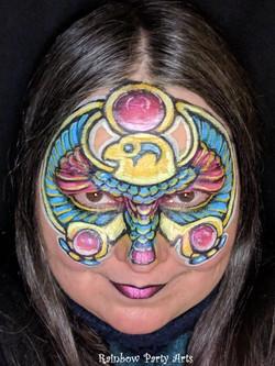 Egyptian jewelry mask