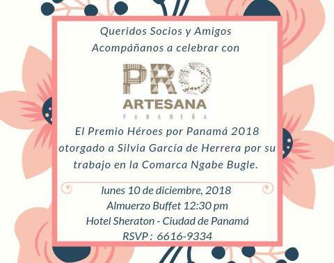 Pro Artesanas de Panamá.