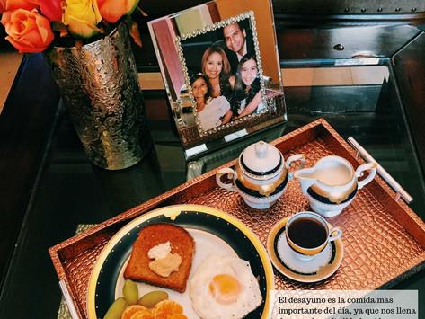 Comencemos la semana con un buen desayuno!!