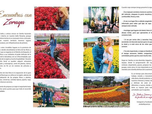 Visitando las Ferias de las Flores en la Provincia de Chiriquì.