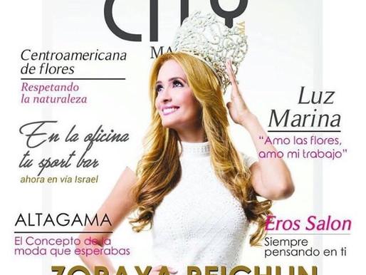 Portada de Revista CitiMaganizePanama -Zoraya Reichlin