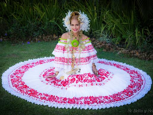 """Video y Outfit """"Vestido Típico Panameño"""" Verla es Fascinante Lucirla un Honor"""