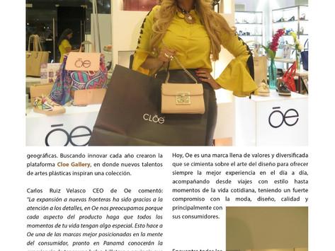 Nueva linea de accesorios de la marca Mexicana Oe.