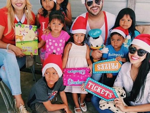 Dar es mejor que recibir-Compartiendo con los niños de Chivo Chivo-Panamá.