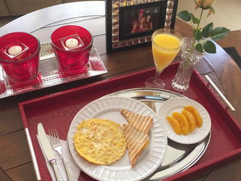 Desayuno delicioso, saludable y con estilo.