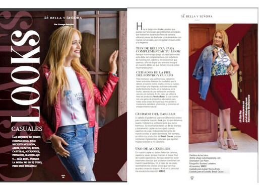 Looks Casuales Moda -Revista Auno