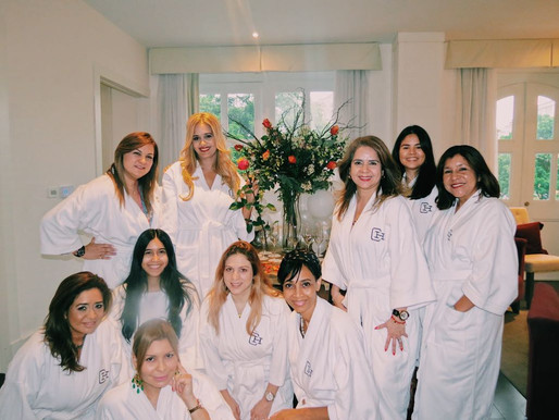Como compartir con tus amistades en un Pijama Birthday Luxury Party