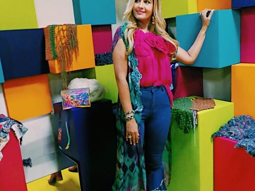 Conociendo las ultimas tendencias en Texturas y Colores para la Nueva Temporada en Colombia Moda.
