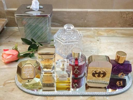 Como organizar tus Perfumes en el Tocador. Tips sencillos