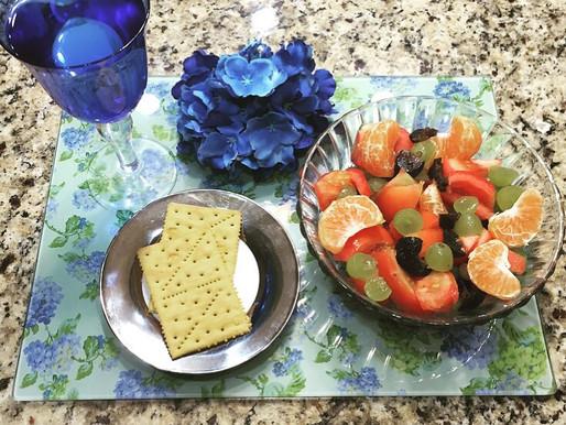 Ensalada de Vegetales con Frutas